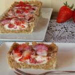 Cheesecake panna cotta alle fragole