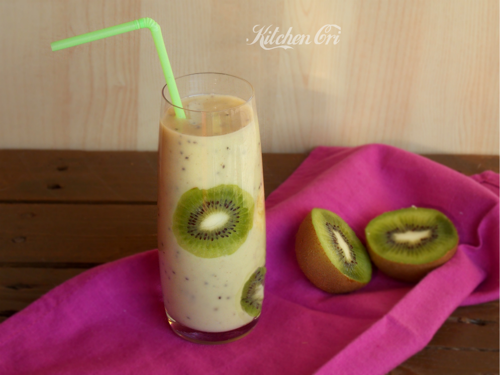 Smoothie al kiwi e banana