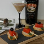 Gelatine di gazpacho alle olive