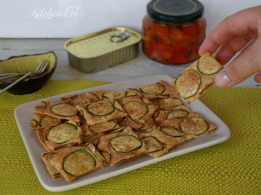Crackers alle zucchine