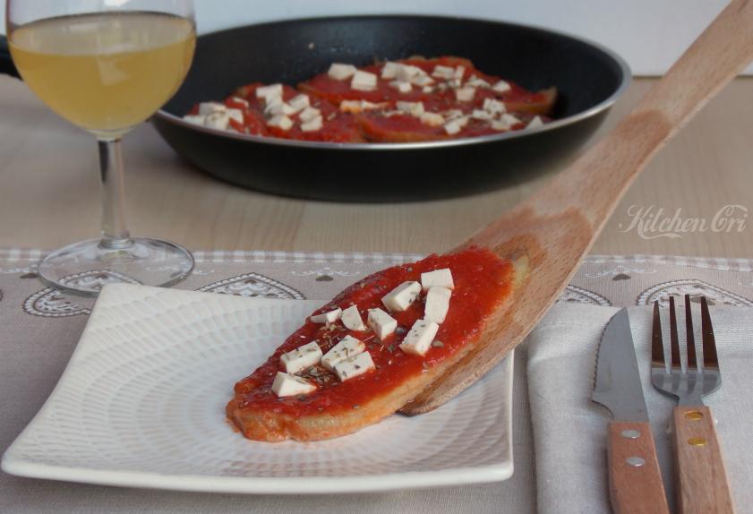 Scaloppine di seitan alla pizzaiola