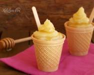 Mini dessert al limone e miele