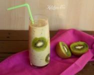 Smoothie al kiwi e banana (La mia settimana vegan)