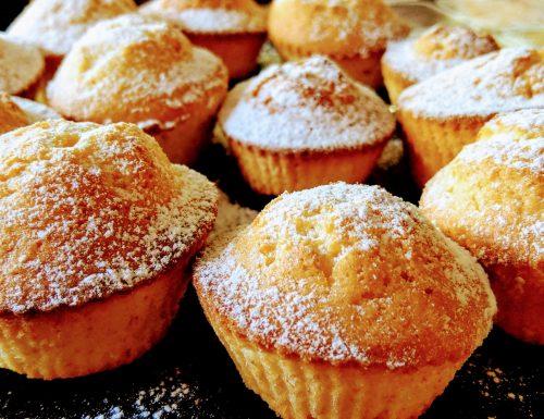Muffin veloci al limone
