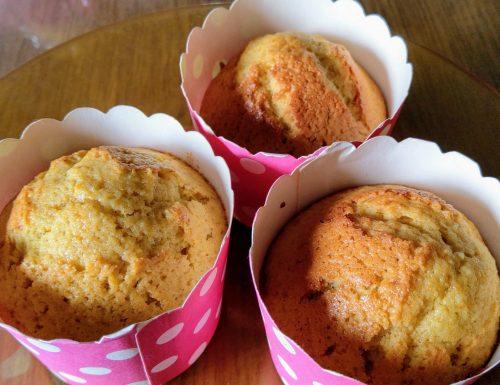 Muffin cannella e arancia