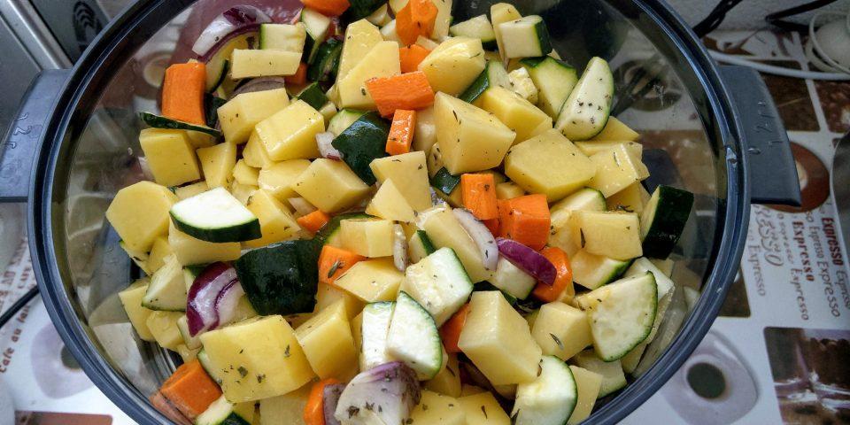 Ricetta Verdure Miste Cotte.Verdure Miste Cotte A Vapore Vaporiera Kitchen Of Love