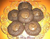 Biscotti al cacao e nutella La Bora Bianca