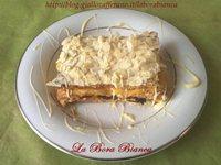 Millefoglie con nutella, zabaione e cioccolato bianco La Bora Bianca