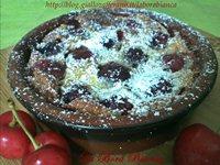 Tortine di ciliegie - Mini clafoutis di ciliegie La Bora Bianca