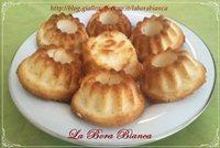 Muffin al limone con soli albumi La Bora Bianca
