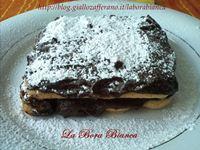 Tiramisù con crema al cioccolato | ricetta veloce senza uova | La Bora Bianca