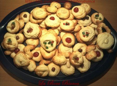 Biscotti viennesi, ricetta con soli albumi