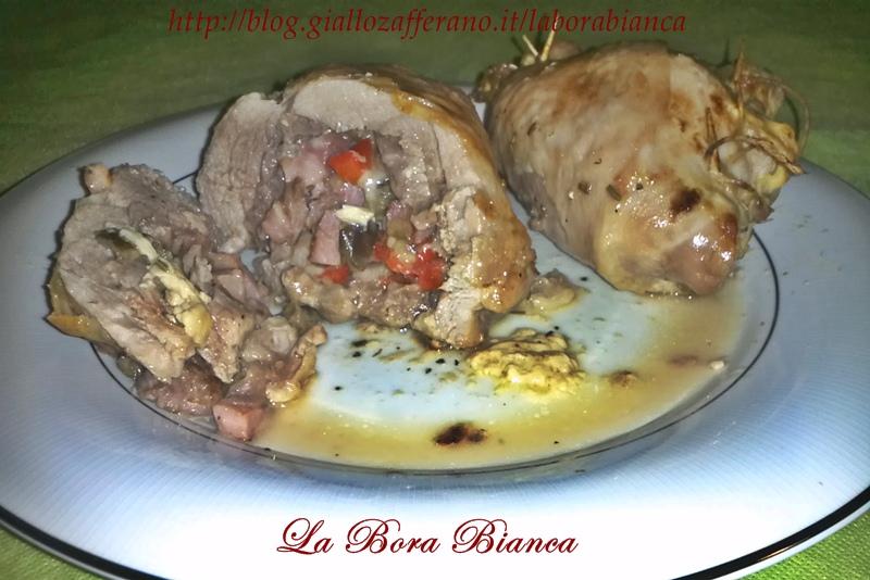Cosce di tacchino ripiene | ricetta ricca | La Bora Bianca