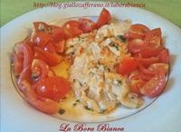Filetti di platessa con pomodorini La Bora Bianca