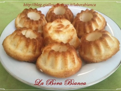 Muffin al limone, ricetta con soli albumi