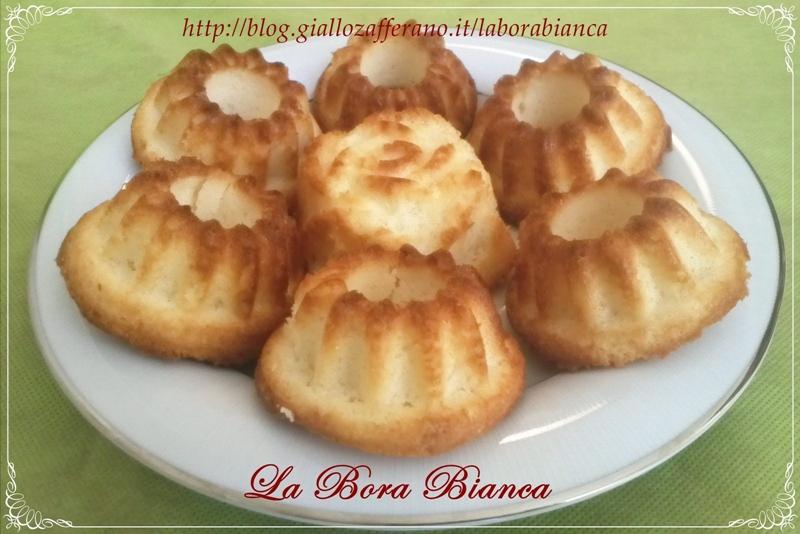 Muffin al limone | ricetta con soli albumi | La Bora Bianca