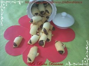 Biscotti alla nutella | ricetta golosa senza uova | La Bora Bianca