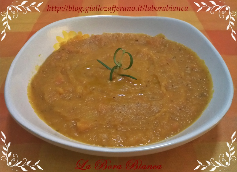 Vellutata di carote | ricetta vegana veloce | La Bora Bianca