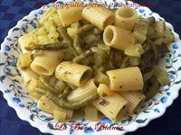 Pasta con fagiolini e patate La Bora Bianca
