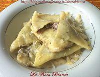Ravioli di patate ripieni di radicchio | La Bora Bianca