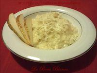 Risotto con formaggio e pere
