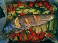 Trota al forno con verdure La Bora Bianca
