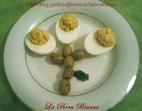 Uova sode con ripieno saporito La Bora Bianca