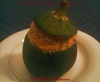 Zucchina tonda ripiena, ricetta al forno La Bora Bianca