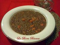 Zuppa di lenticchie e patate La Bora Bianca