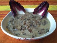 Zuppa di radicchio e patate La Bora Bianca