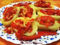Barchette di patate ripiene (ricetta senza forno) La Bora Bianca
