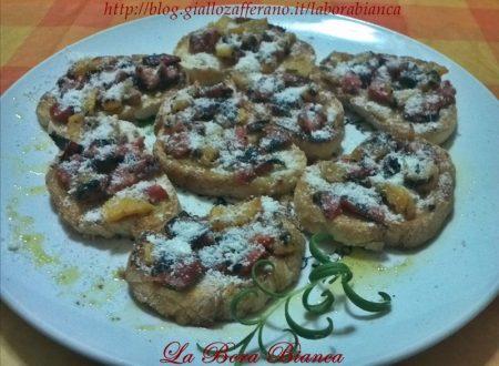Bruschette ai peperoni, ricetta vegetariana