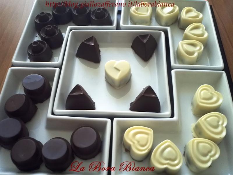 Cioccolatini ripieni | ricetta per tutti i gusti | La Bora Bianca