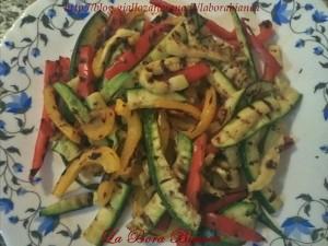 Pasta fredda con verdure grigliate La Bora Bianca
