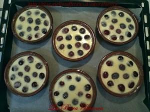 Mini clafoutis di ciliegie (tortine di ciliegie) La Bora Bianca