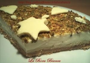 Cheesecake di pistacchi e cioccolato bianco La Bora Bianca