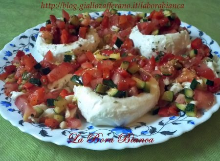 Mozzarelle ripiene di verdure, ricetta vegetariana
