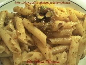 Pasta al pesto di pistacchi | ricetta semplice e veloce | La Bora Bianca