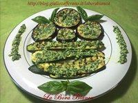 Verdure grigliate con pesto al limone La Bora Bianca
