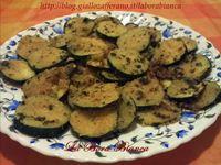 Zucchine gratinate al forno La Bora Bianca