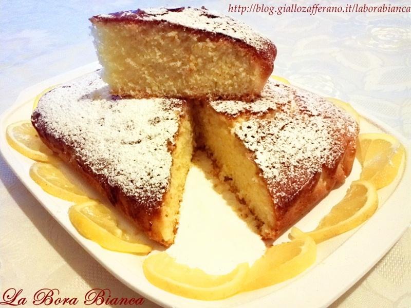 Torta al limone sofficissima | ricetta con soli albumi | La Bora Bianca
