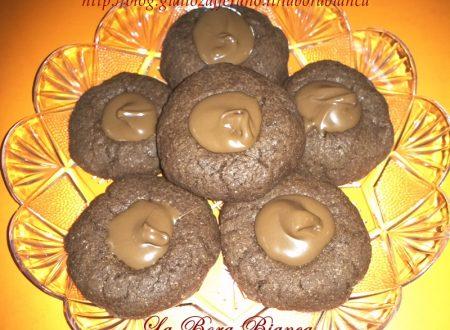 Biscotti al cacao e nutella, ricetta golosa
