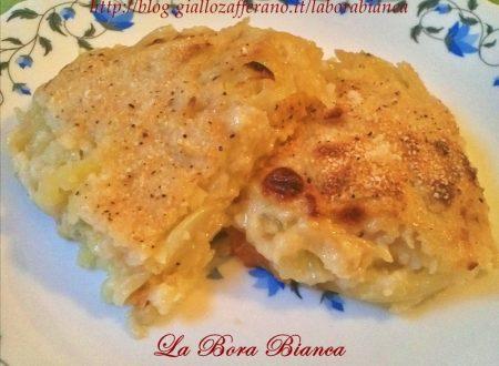 Patate gratinate, Tentazione di Jansson, ricetta al forno