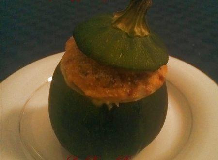 Bomba a mano, ricetta zucchina tonda ripiena