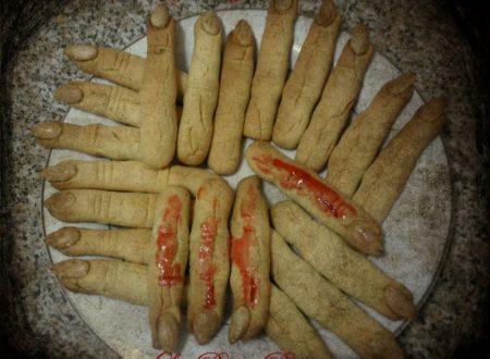 Dita di strega, ricetta biscotti di Halloween