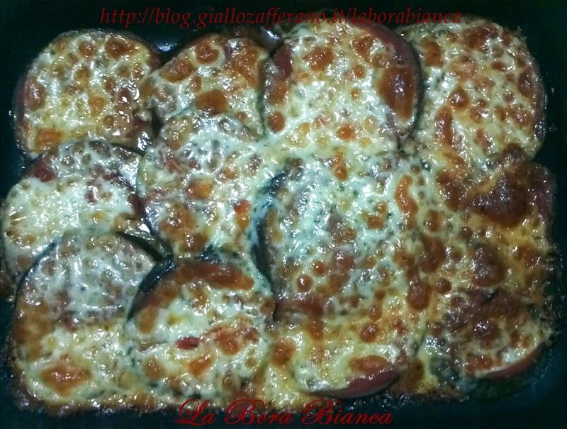 Melanzane alla pizzaiola al forno | ricetta vegetariana | La Bora Bianca