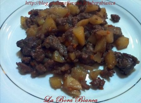 Spezzatino di carne con patate, ricetta gustosa