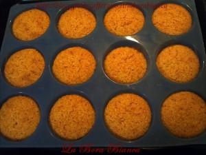 Tortine di mandorle e carote La Bora Bianca