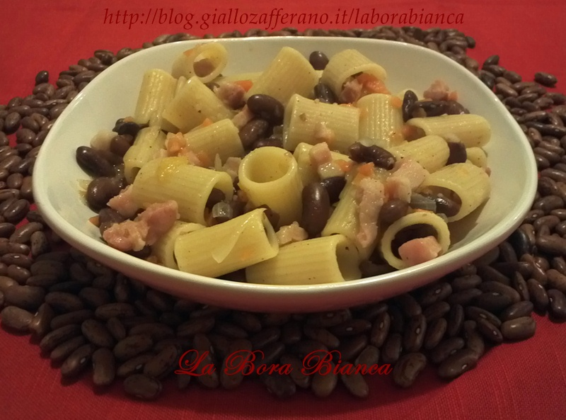 Pasta e fagioli, ricetta saporita La Bora Bianca
