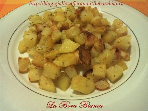 Patate al forno, ricetta patate arrosto